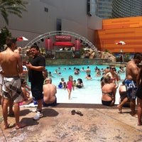 Photo taken at Pools at Monte Carlo Resort & Casino by Brian V. on 7/14/2013