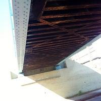 Photo taken at CARSON TRAIN BRIDGE by TONY A. on 10/25/2012