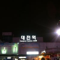 Photo taken at Daejeon Stn. - KTX/Korail/SRT by 태용 권. on 1/28/2013