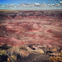 Photo taken at Painted Desert by Joshua C. on 11/4/2013