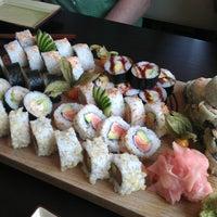 Photo taken at Akiko Sushi Bar & Restaurant by Ajfi on 3/1/2013
