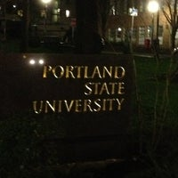 Photo taken at Portland State University by Mo R. on 3/3/2013