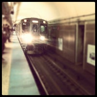 Photo taken at CTA - Chicago (Red) by Ryan B. on 10/20/2012