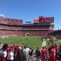 Photo taken at Levi's Stadium Fan Walk by Jenn H. on 9/16/2018
