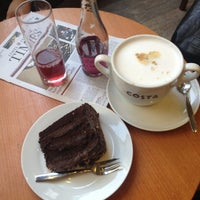 Photo taken at Costa Coffee by Antonina K. on 3/4/2013