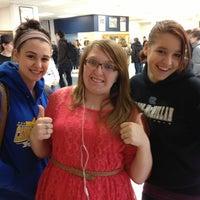 Photo taken at Canon McMillan High School by Ashley B. on 1/23/2013