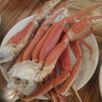 Photo taken at Captain George's Seafood Restaurant by Laura M. on 10/21/2012