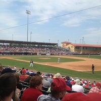 Photo taken at Osceola County Stadium by Mark P. on 3/22/2013