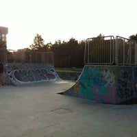 Photo taken at Skatepark Lampugnano by Michele S. on 11/10/2013