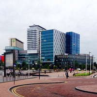 Photo taken at University of Salford (MediaCityUK Campus) by Ross I. on 6/26/2014