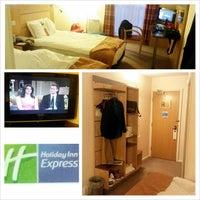 Photo taken at Holiday Inn Express Newcastle - Metro Centre by Jason B. on 10/20/2013