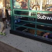 Photo taken at MTA Subway - High St/Brooklyn Bridge (A/C) by Scott B. on 4/25/2013