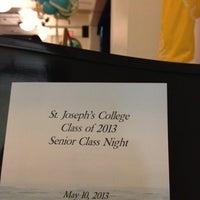 Photo taken at St. Joseph's College by Scott B. on 5/11/2013