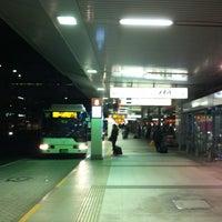 Photo taken at 第1ターミナルバスのりば by Tomo K. on 2/17/2013