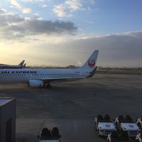 Photo taken at Gate 20 by Kazumi I. on 3/4/2015