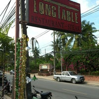 Photo taken at Long Table Choeng Mon by Natalie L. on 1/10/2013