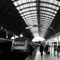 Photo taken at London Paddington Railway Station (PAD) by Daniel B. on 4/2/2013