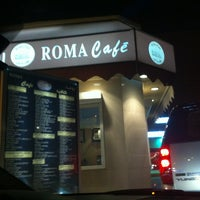 Photo taken at Roma Cafe by Nouf A. on 12/27/2012