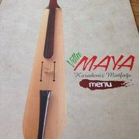 10/26/2014 tarihinde Metin A.ziyaretçi tarafından Villa Maya Karadeniz Mutfağı'de çekilen fotoğraf