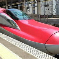 Photo taken at Tohoku Shinkansen Omiya Sta. by さと ぼ. on 7/9/2013