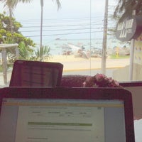 Photo taken at Vela e Mar Hotel Fortaleza by Germana V. on 2/17/2014
