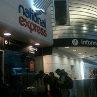 Photo taken at Birmingham Coach Station by Rebecca L. on 12/24/2012