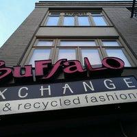 Photo taken at Buffalo Exchange by David P. on 3/10/2013