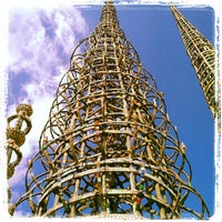 Photo taken at Watts Towers of Simon Rodia State Historic Park by Greg B. on 2/11/2013