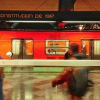 Photo taken at Metro Constitución de 1917 by Caminαλεχ 🚶 on 9/19/2015