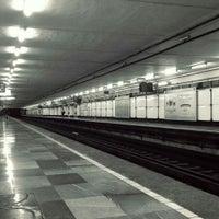 Photo taken at Metro San Juan de Letrán by Caminαλεχ 🚶 on 9/23/2015