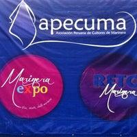 Photo taken at Apecuma Marinera Expo by Martha R. on 10/7/2012