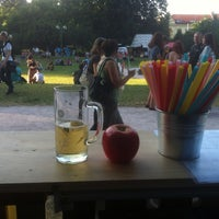 Photo taken at Open Air - Prager Cider Bar by Michal D. on 6/28/2014