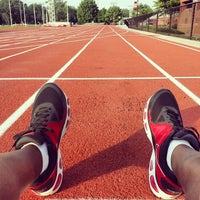 Photo taken at Spec Towns Track by Kendrick on 5/29/2014