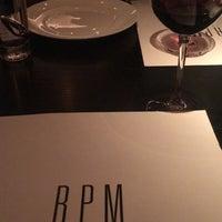 Das Foto wurde bei RPM Italian von Karen B. am 4/18/2018 aufgenommen