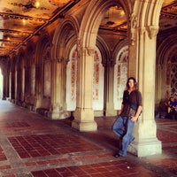 Photo taken at Bethesda Terrace by David L. on 7/24/2013