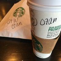Photo taken at Starbucks by Ozan U. on 1/26/2016