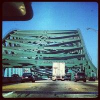 Photo taken at Piscataqua River Bridge by Doug R. on 5/5/2013