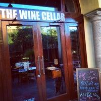 Photo taken at The Wine Cellar Wine & Mezza Bar by Little N. on 5/10/2014