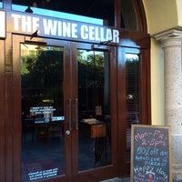Photo taken at The Wine Cellar Wine & Mezza Bar by Little N. on 2/28/2014