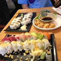 Photo taken at Geta Sushi by Emily D. on 12/29/2012