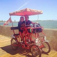 Photo taken at Toronto Island Bicycle Rental by Juan A. on 6/20/2013