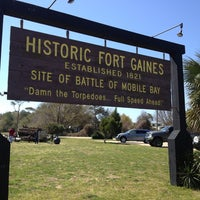 Photo taken at Fort Gaines by Valerie on 3/15/2013