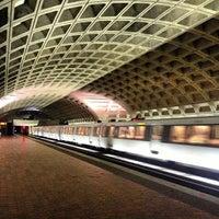 Photo taken at Metro Center Metro Station by Andrew K. on 12/25/2012