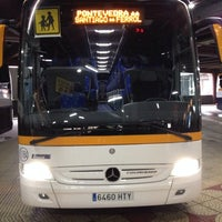 Photo taken at Estación de Autobuses de Vigo by Jesus C. on 1/15/2014