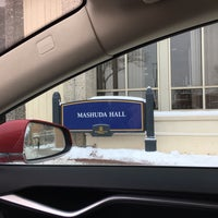 Photo taken at Mashuda Hall by Tom N. on 12/17/2016