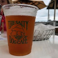 Photo taken at Salty Dog Cafe-Waterside Deck by Tom N. on 7/29/2017