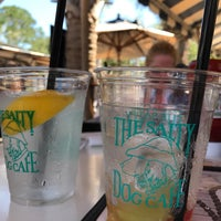 Photo taken at Salty Dog Cafe-Waterside Deck by Tom N. on 7/31/2017