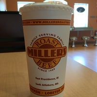 Photo taken at Miller's Roast Beef - South Attleboro by Tom N. on 5/25/2016