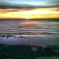 Photo taken at Beacon's Beach by Richard M. on 1/14/2013