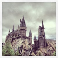 Photo taken at The Wizarding World Of Harry Potter - Hogsmeade by Angel S. on 1/18/2013